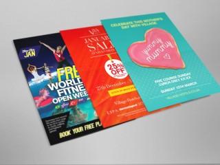 Village Posters & Leaflets